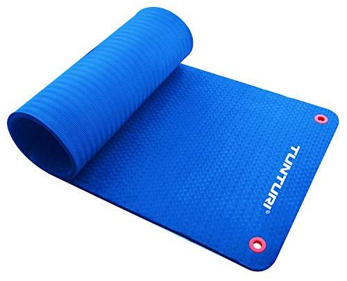 Tunturi-Fitness Pro Estera, Unisex Adulto, Azul, 180 cm
