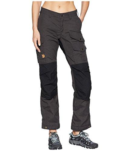 FJÄLLRÄVEN Vidda Pro Trousers W Reg Pantalon de Sport Femme, Dark Grey, FR : XL (Taille Fabricant : 42)