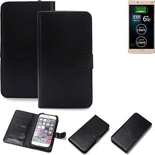 K-S-Trade® Handy Schutz Hülle Für Allview P8 Energy Pro Schutzhülle Bumper Schwarz 1x