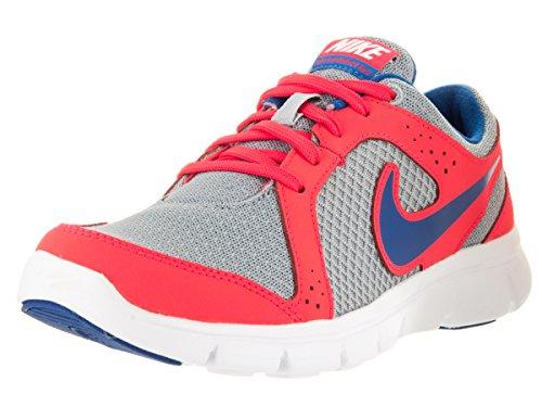 Nike Flex Experience (GS), Zapatillas de Running Niños, Gris/Azul (WLF Gry/Mltry Bl-LSR Crmsn-Mlt), 38 1/2