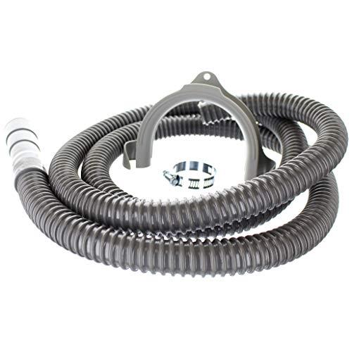 Kelaro - Manguera de drenaje universal para lavadora, manguera de descarga de 6 pies, flexible corrugado reemplazo o instalación