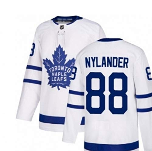 AFDLT Ice Hockey Jersey NHL Toronto Maple Leafs Hombre Jerseys de Hockey Mujer Bordado Sudaderas Casual Manga Larga Suéter,88,M