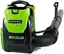 Greenworks 80V 145MPH - 580CFM Cordless Backpack Leaf Blower, Battery and Charger Not Included BPB80L00