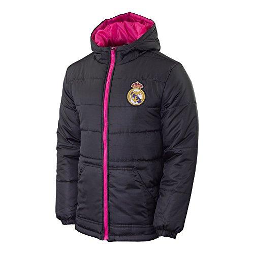 Real Madrid FC Mens Light Down Jacket-Home (Large)