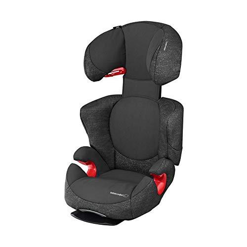 Bébé Confort Rodi AirProtect Seggiolino Auto 15-36 kg, Gruppo 2/3 per Bambini dai 3.5 ai 12 anni, Reclinabile, Facile da Installare, Nero