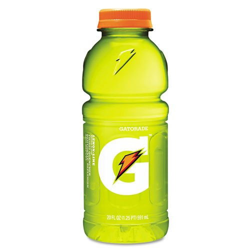 Gatorade Sports Drink, Lemon-Lime, 20oz Plastic Bottles - Includes 24 per case.