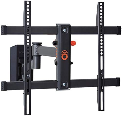 ECHOGEAR Full Motion TV Wall Mount for TVs Up to 58 Smooth Extention Swivel Tilt Wall Template product image