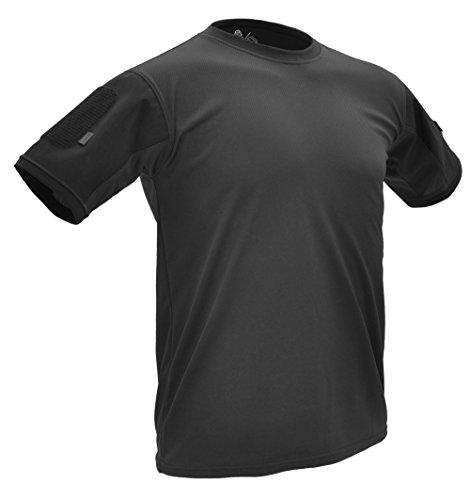 Hazard 4 Battle-T(TM) T-Shirt à séchage Rapide Noir (XXL)