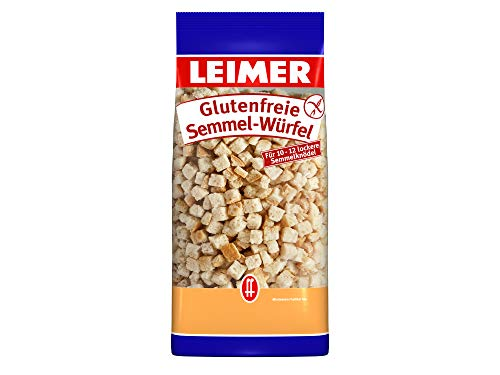 Leimer Glutenfreie Semmelwürfel - Knödelbrot, 500 g