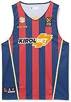 1º Equipación Camiseta, Adultos Unisex, Azulgrana, XL
