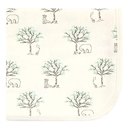 Touched by Nature Unisex Baby Organic Cotton Swaddle