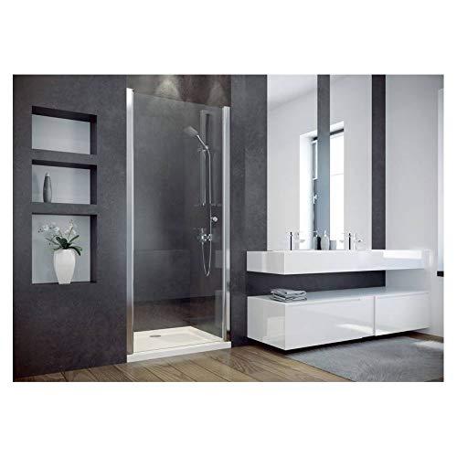Azura Home Design - Puerta de ducha batiente CIRKO II 80/90 x...