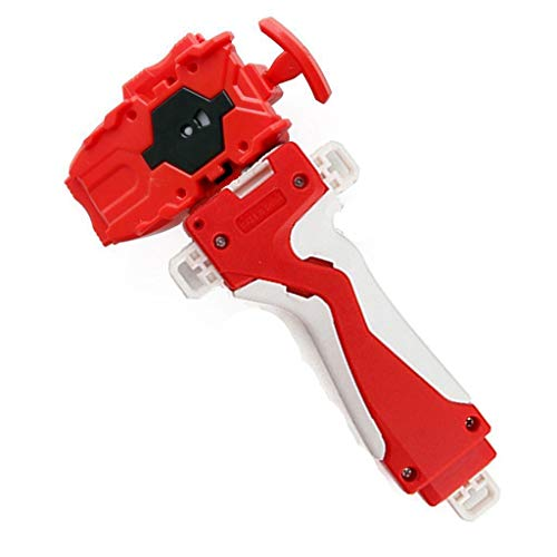 Bey Gyro Blades Starter String Launcher and Grip, Right Spin Strong Spining Top Toys Accessories(Red)