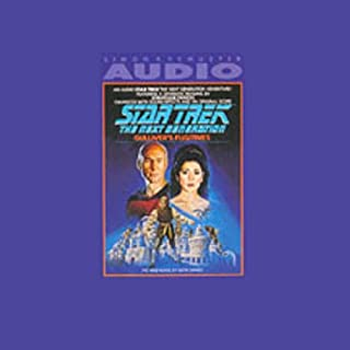 Star Trek, The Next Generation: Gulliver's Fugitives (Adapted)                   By:                                                                                                                                 Keith Sharee                               Narrated by:                                                                                                                                 Jonathan Frakes                      Length: 1 hr and 31 mins     13 ratings     Overall 3.8