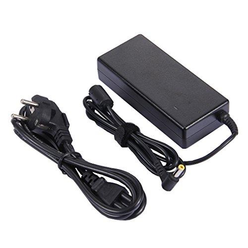 MOHAMED 20V 4.5A 90W 5.5x2.5mm Captador de Corriente portátil del Ordenador portátil Cargador Universal con Cable de alimentación para Lenovo Y460 / Y470 / G470 / G480
