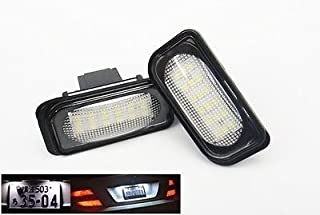 LEDIN License Plate LED Light kit No Error Mercedes W203 C-class C230 C240 C320 C32 C55 AMG