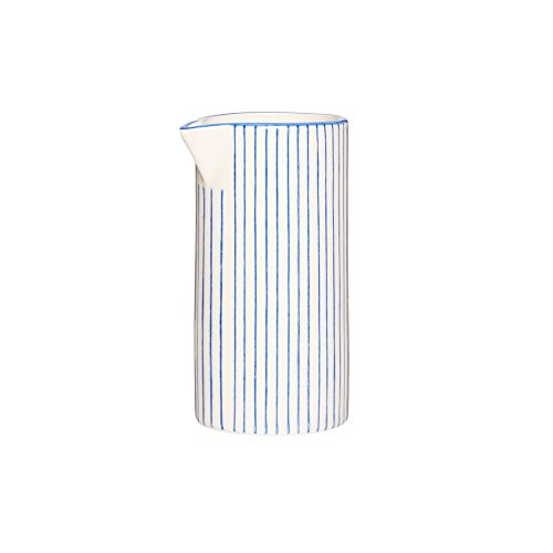 IB Laursen Casablanca Blau Kanne Klein Stripes 0,2 L