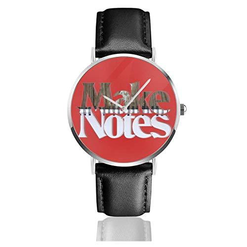 Hacer Notas Reloj de Pulsera Temporizador Deportes Adolescentes Estudiantes Reloj de Cuarzo con Pilas de 38 mm de diámetro