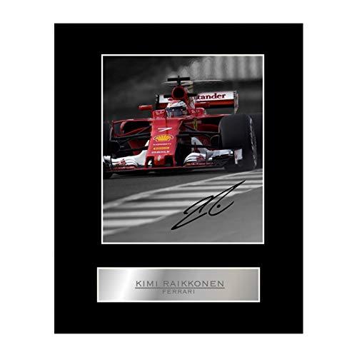 Kimi Raikkonen Foto firmada Ferrari #2