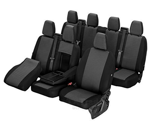 Z4L Sitzbezüge Hero Passgenau geeignet für IVECO Daily ab 2014-7 Sitze