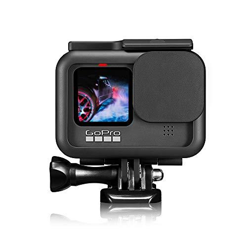 【Taisioner】GoProHERO9Black用保護フレーム+シリコンレンズカバー直接充電スポーツカメラアクセサリーブラック