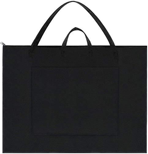 Art Portfolio Bag Artist Carry Tote Bags Artist Portfolios Tote Students Artist Sketch Bag Art Shoulder Drawboard Bags for Drawing Sketch Folding Art Supplies Storage Bag Art Organizer Portfolio Case