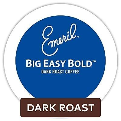 Emeril Big Easy Bold, Single-Serve Keurig K-Cup Pods, Dark Roast Coffee, 72 Count