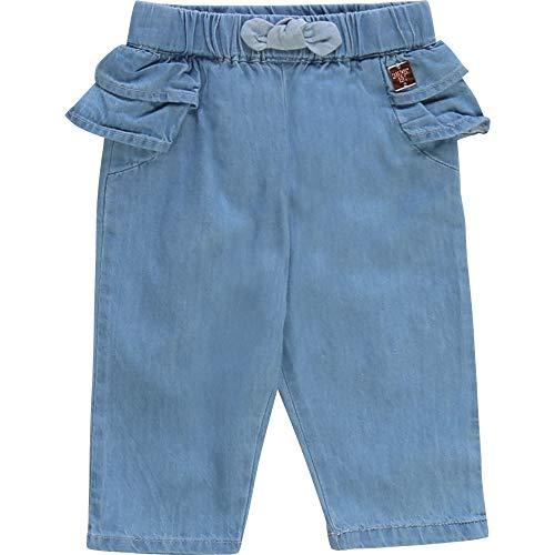CARREMENT BEAU Pantalon en Denim léger Bebe Couche Denim Lave 3MOIS