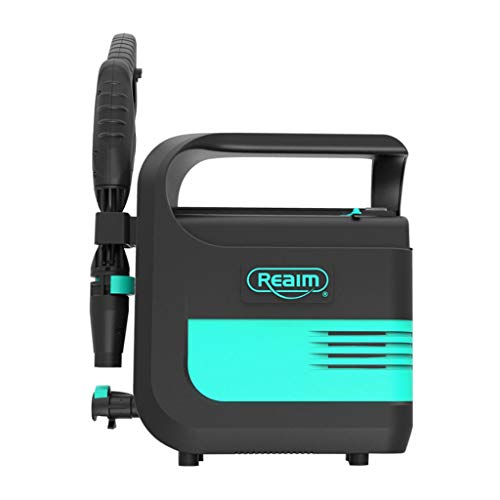 IMBM Accu-wasmachine, draadloos, oplaadbaar, lithium, waterpistool, 18 V, draagbaar, voor auto, hogedrukreiniger, waterpomp