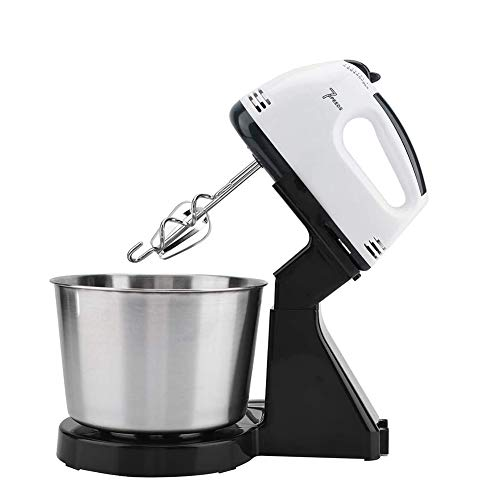 Zhenwo Electric Hand Mixer, Hand Held Egg Bat Whisk Beverage Electric Stand Cream Blender Milk Frother Baking Cake Tools for The Coffee Kitchen,A