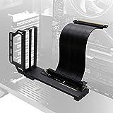 EZDIY-FAB Soporte de Soporte de Tarjeta gráfica Vertical, Montaje de GPU, Kit de Soporte VGA de Tarjeta de Video con Cable Vertical PCIE 3.0 de 20 cm / 7,8 Pulgadas