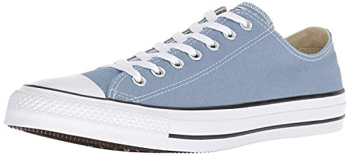 Converse Chuck Taylor All Star 2018 Seasonal Low Top Sneaker, Washed Denim, 5.5 Men/ 7.5 Women