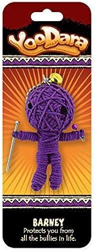 Dimension 9 Barney YooDara Good Luck Charm Toy by Dimension
