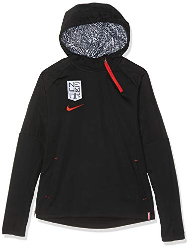 Nike Jungen Jungen Sweatshirt Dry Hoodie QZ, Black, XS, AO0742