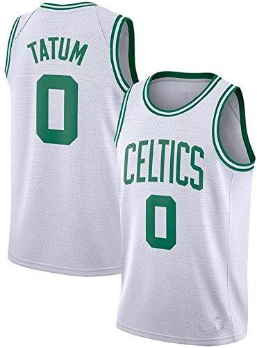 Hombres Camiseta De Baloncesto De La NBA, Boston Celtics # 0 Jayson Tatum, Fresco Y Transpirable Retro Unisex De Los Deportes Camisetas del Baloncesto Jersey,L(175~180cm/75~85kg)