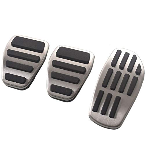 HJPOQZ Copri Pedale per Auto in Acciaio Inossidabile Copri Pedale per ricambi Auto Copri pedaliera, per Renault Clio Scenic 3 Talisman Megane Espace