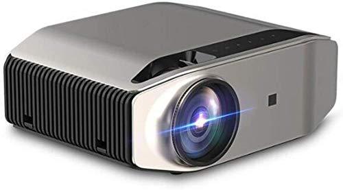 Los mini proyectores portátiles tienen las mismas pantallas que los ordenadores portátiles y los teléfonos de TV, para entretenimiento en la oficina y en el hogar.