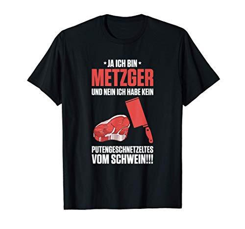 Puten & Schwein | Metzger, Metzgerei, Fleischer, Fleischerei T-Shirt