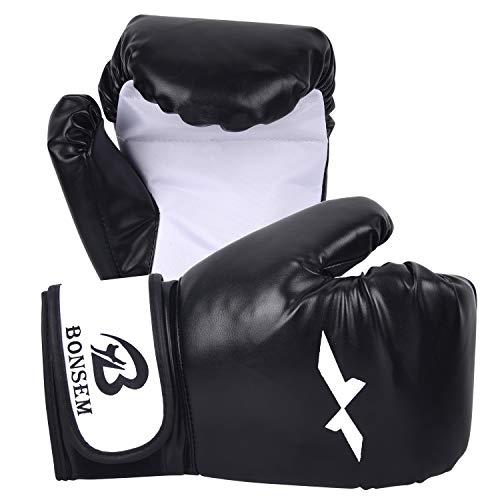 ZILINGO Boxhandschuhe Erwachsene Muay Thai Boxsack Kickboxen Training Sparring Sandsack Boxing Gloves, Boxen Punchinghandschuhee für Boxen, Kickboxen, Sparring, Training mit Boxsack