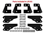 SuperATV 3' Lift Kit for Polaris Ranger Full Size XP 900 / Crew (2013+) - Front & Rear Lift Kit - Easy To Install with Bolt-on System - All Hardware Included - 100% Guaranteed to Fit - Zinc Plated
