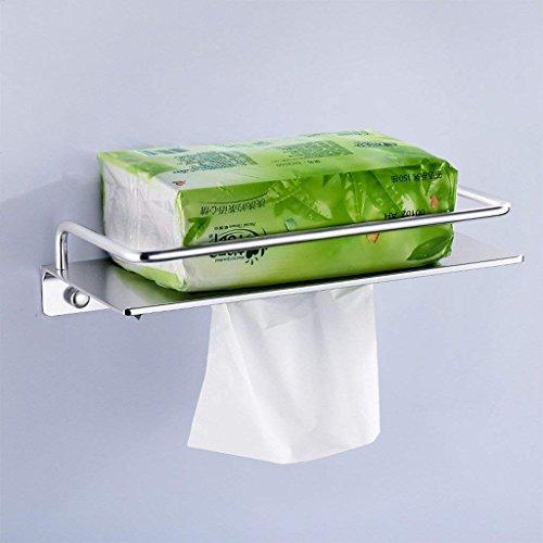 YNG Toilettenpapier-Gestell-Ausgangsraum-Aluminiumpapier-Tuch-Zahnstangen Kreativer Wasserdichter Toilettenpapier-Halter-Badezimmer-Wand-Toilettenpapier-Halter