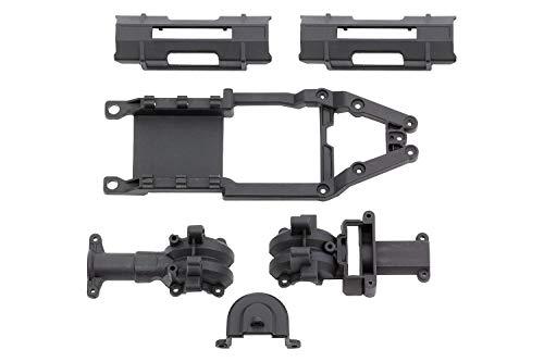 XciteRC Chassisoberteil, Getriebegehuse und Akkuhalteklammer one12 4WD Serie Version 2