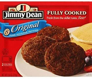 jimmy dean precooked sausage patties