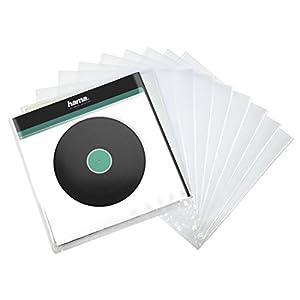 Hama | Vinyl LP Outer Sleeve, Transparent, 10 Pcs