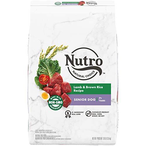 NUTRO NATURAL CHOICE Senior Dry Dog Food,...