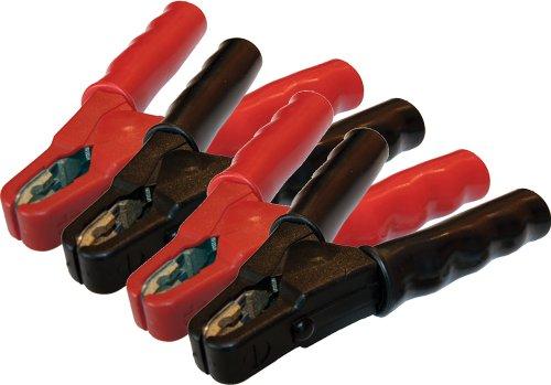Ladezangen-Satz SZ60 (rot) und SZ61 (schwarz) / bis 600A / vollisoliert / Messing-Gusspoleinlagen