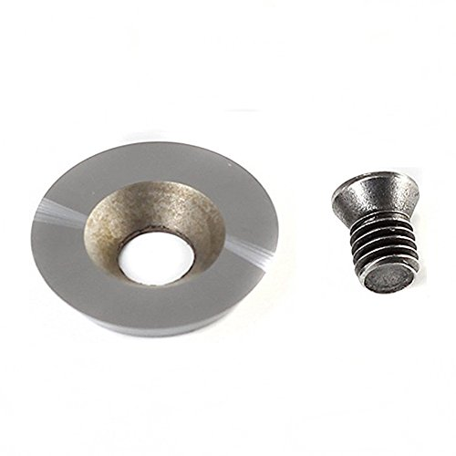 For Sale! YUFUTOL 18mm(.709) Dia Round Tungsten Carbide Cutters Inserts Replacement for Wood Turnin...