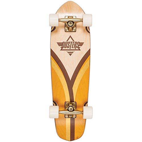 Dusters Cruiser Flashback 28Gold Krypto White Red, Skateboard Completo, Multicolore Dimensioni 28