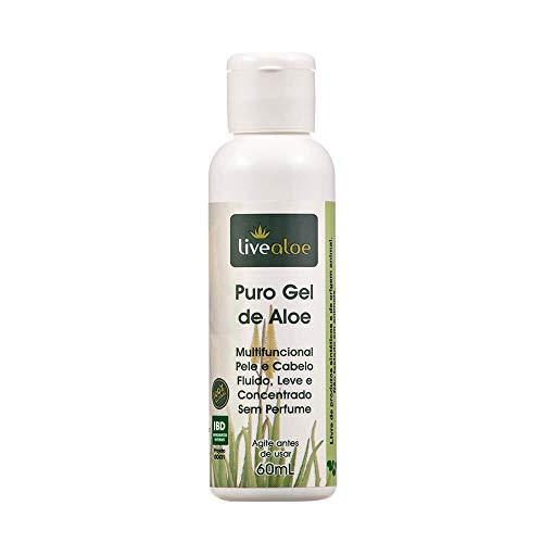 Puro Gel Multifuncional Natural de Aloe 60ml – Livealoe