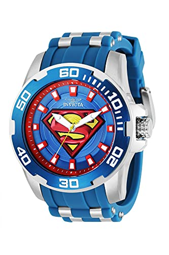 Invicta DC Comics - Superman 32479 blu Orologio Uomo Quarzo - 50mm